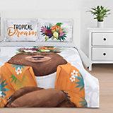 Комплект постельного белья Этель Tropical dream, евро