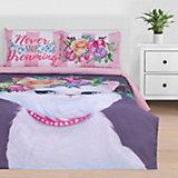 Комплект постельного белья Этель Dreaming cat, евро