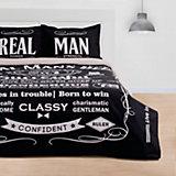 Комплект постельного белья Этель Real Man, евро