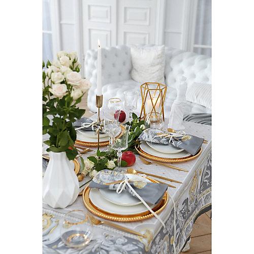 Скатерть Этель Classic style, 110х145 см +/-3 см - серый