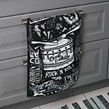 Кухонное полотенце Доляна Rock'n'roll, 35х60 см