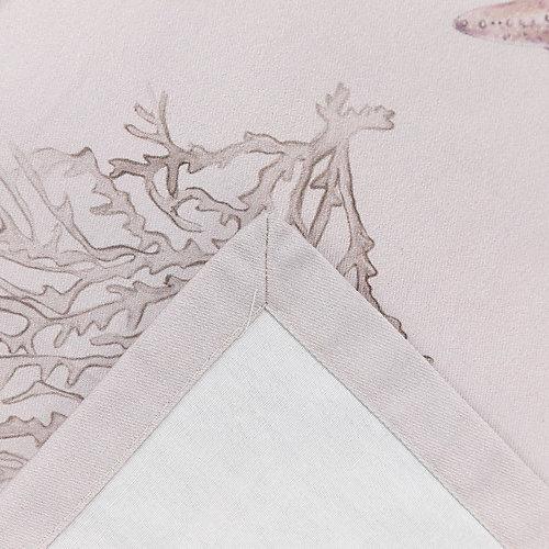 """Скатерть Этель """"Коралловый риф"""", 180х145 см +/-3 см - серый"""
