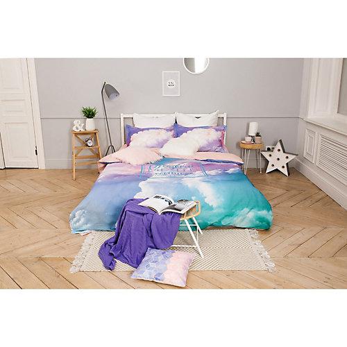 """Комплект постельного белья Этель """"Воздушные сны"""", 2-спальное - голубой"""