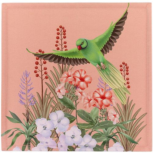 Столовый набор Этель Tropical animals, 5 предметов - розовый