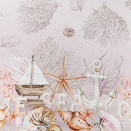 """Скатерть Этель """"Коралловый риф"""", 110х145 см +/-3 см - серый"""
