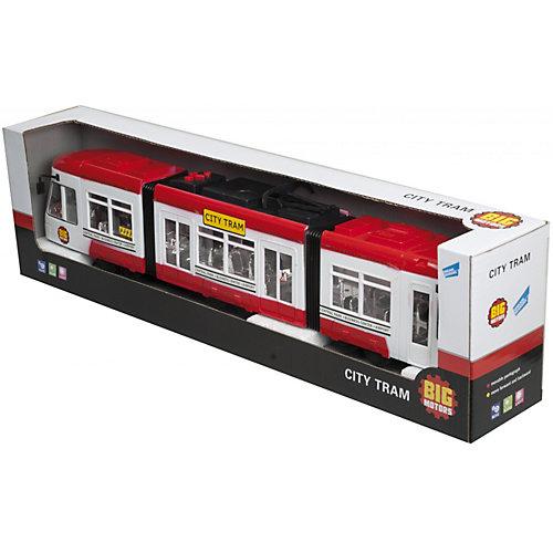 Городской трамвай, красный от Big motors