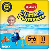 Трусики-подгузники для плавания Huggies Little Swimmers 12-18 кг, 11 шт