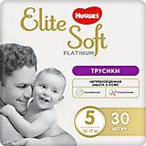 Трусики-подгузники Huggies Elite Soft Platinum 12-17 кг,  30 шт