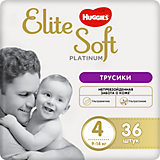 Трусики-подгузники Huggies Elite Soft Platinum 9-14 кг, 36 шт