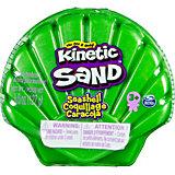 Набор для лепки Kinetic Sand Кинетический песок в ракушке, мини