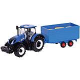 Трактор Bburago New Holland Farm tractor, 1:32
