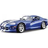 Модель для сборки Bburago Dodge Viper GTS Coupe, 1:24