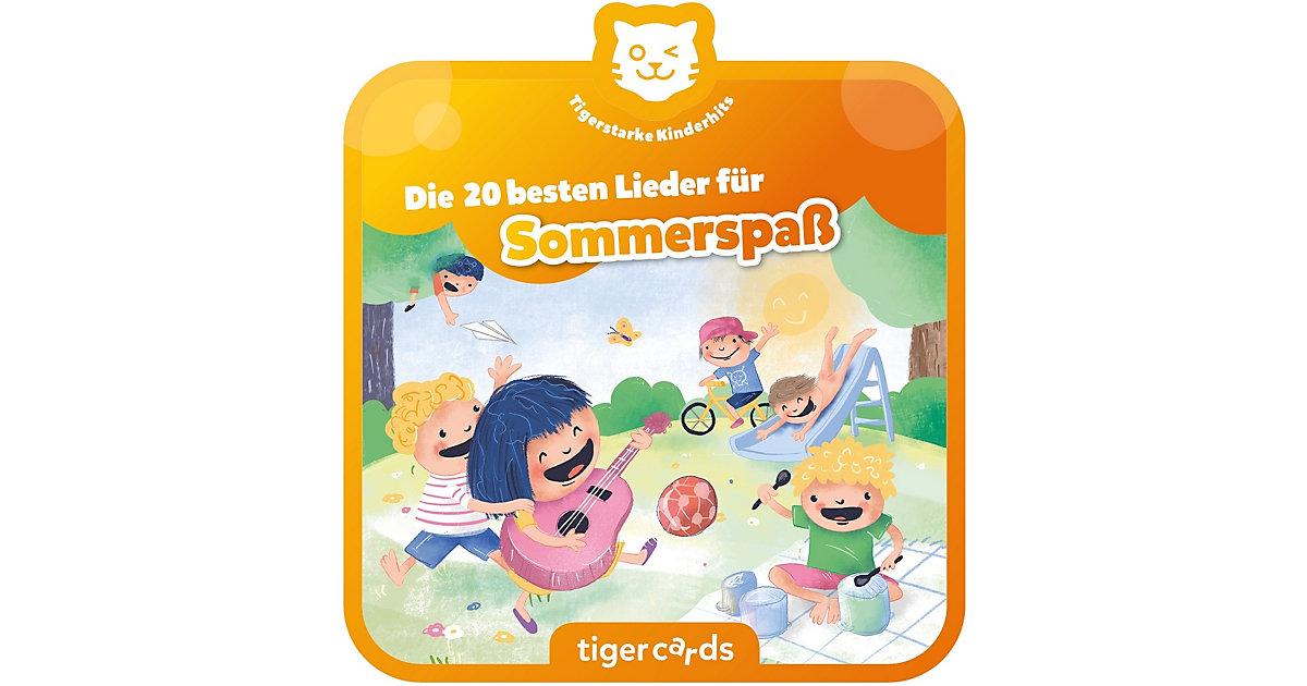 tigercard - Die 20 Schönsten Sommerlieder Hörbuch