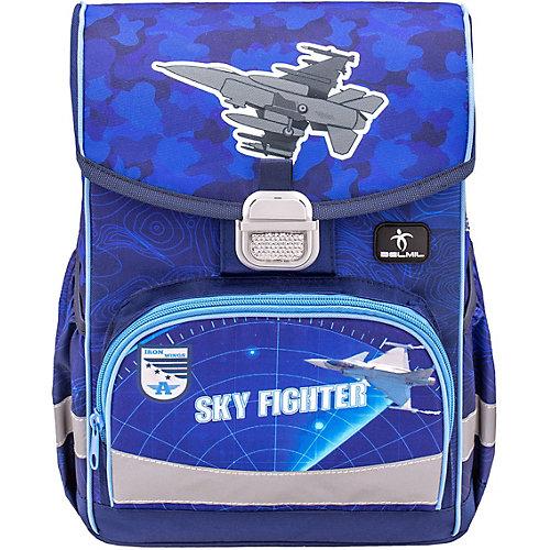 Ранец Belmil Click Sky Fighter - темно-синий деним от Belmil