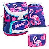 Ранец Belmil Mini-Fit Flamingo, с наполнением