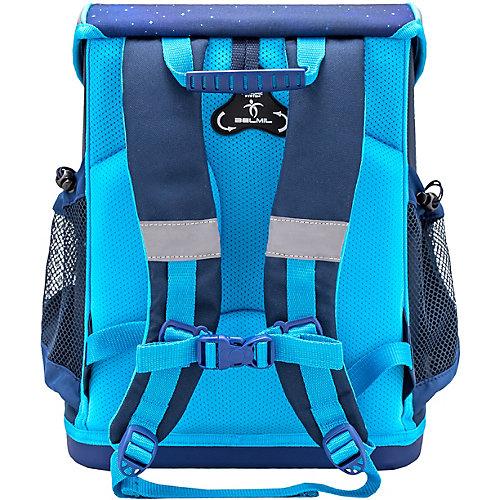 Ранец Belmil Mini-Fit Space, с наполнением - темно-синий деним от Belmil