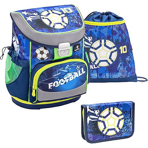 Ранец Belmil Mini-Fit Soccer Sport, с наполнением - темно-синий деним от Belmil
