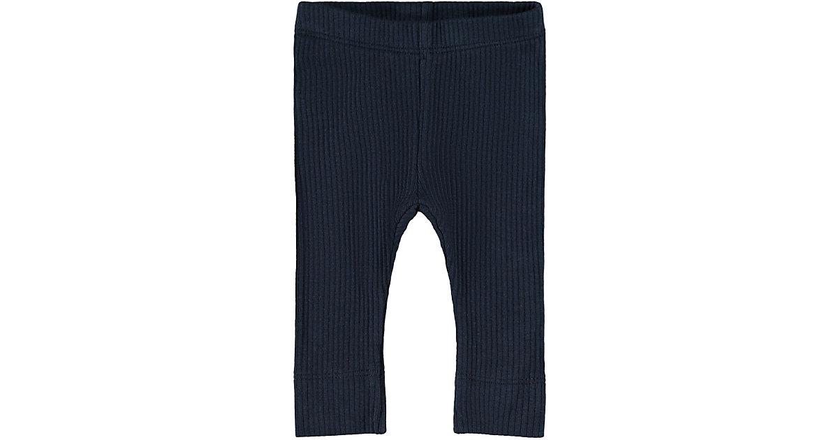 Baby Leggings NBMKABILLE , Organic Cotton dunkelblau Gr. 62 Jungen Baby