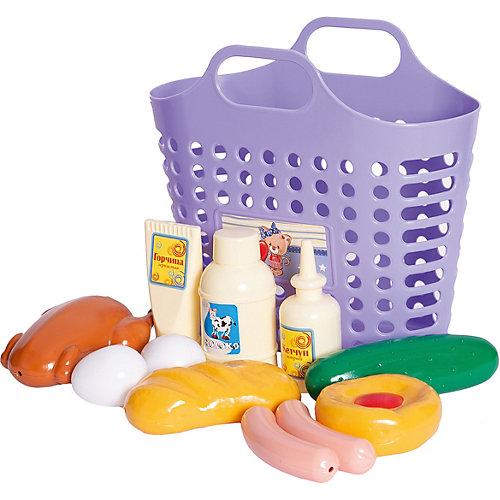 Игровой набор Стром «Продуктовая корзинка», 12 предметов от Стром