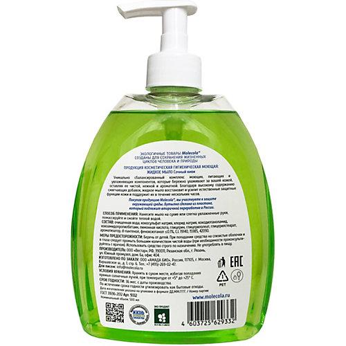 Жидкое крем-мыло для рук Molecola Сочный киви, 500 мл