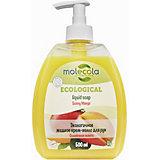 Крем-мыло для рук Molecola Солнечное манго, 500 мл