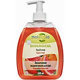 Жидкое мыло для рук Molecola Королевский апельсин, 500 мл