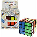 Головоломка 1Toy Куб 4х4, 6 см