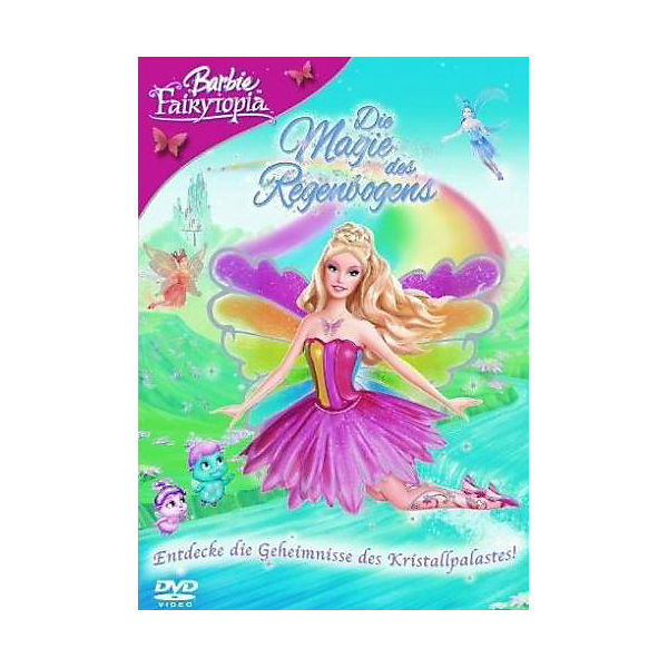Dvd Barbie Fairytopia Die Magie Des Regenbogens Barbie Mytoys