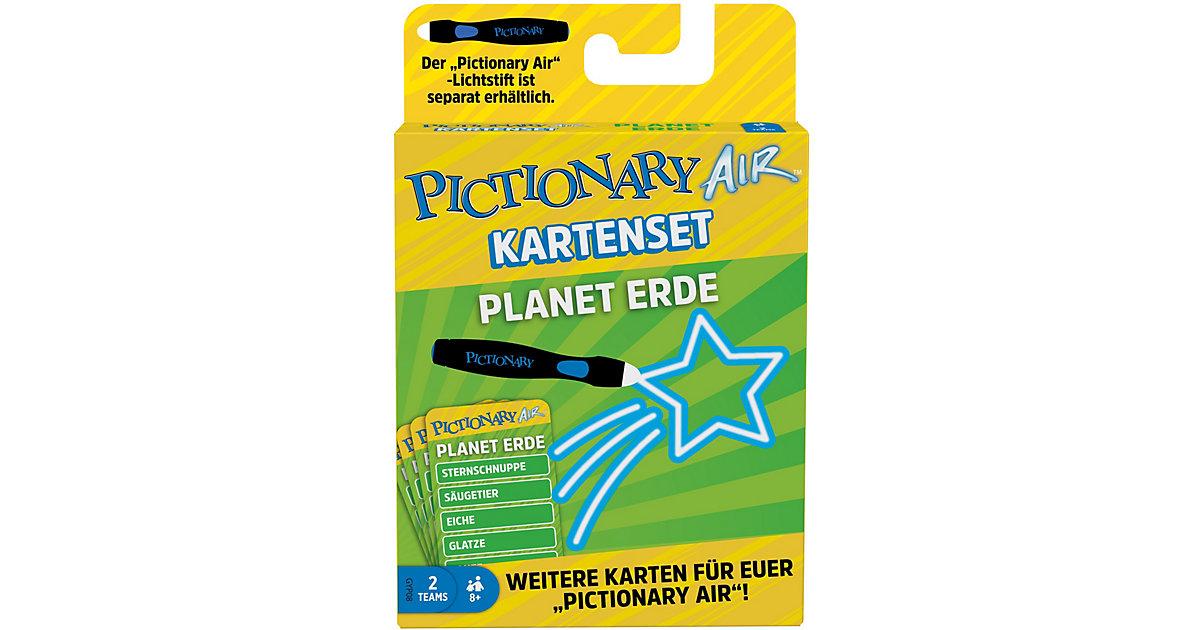 Mattel Games Pictionary Air Kartenset Planet Erde, Zeichenspiel ab 8Jahren