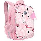 Рюкзак школьный Grizzly Фламинго