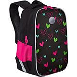 Рюкзак школьный Grizzly Сердечки