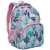 Рюкзак школьный Grizzly Кактусы
