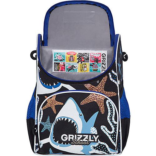 Рюкзак школьный Grizzly с мешком для обуви от Grizzly