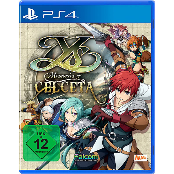 PS4 Y's Memories of Celceta