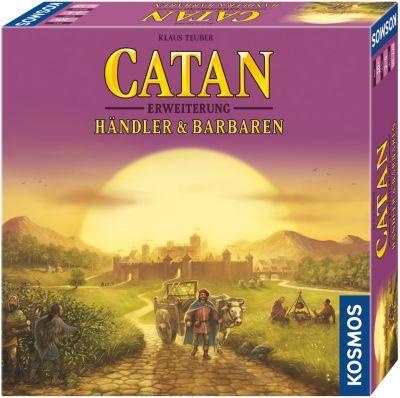 Catan - Erweiterung Händler & Barbaren 2-4 Spieler