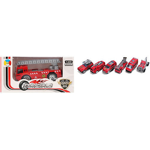 Машина Наша Игрушка Пожарная бригада, 1:64 от Наша Игрушка