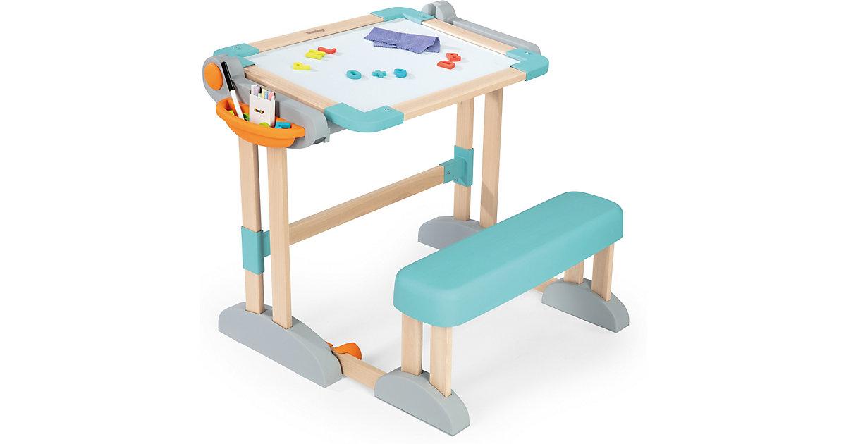 Zusammenklappbarer modularer Holz-Spieltisch 2-in-1, Tafel - Maltisch - Schreibtisch