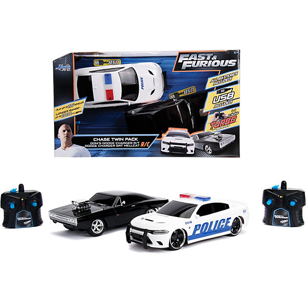 Fast & Furious RC Doppel-Pack 1:16