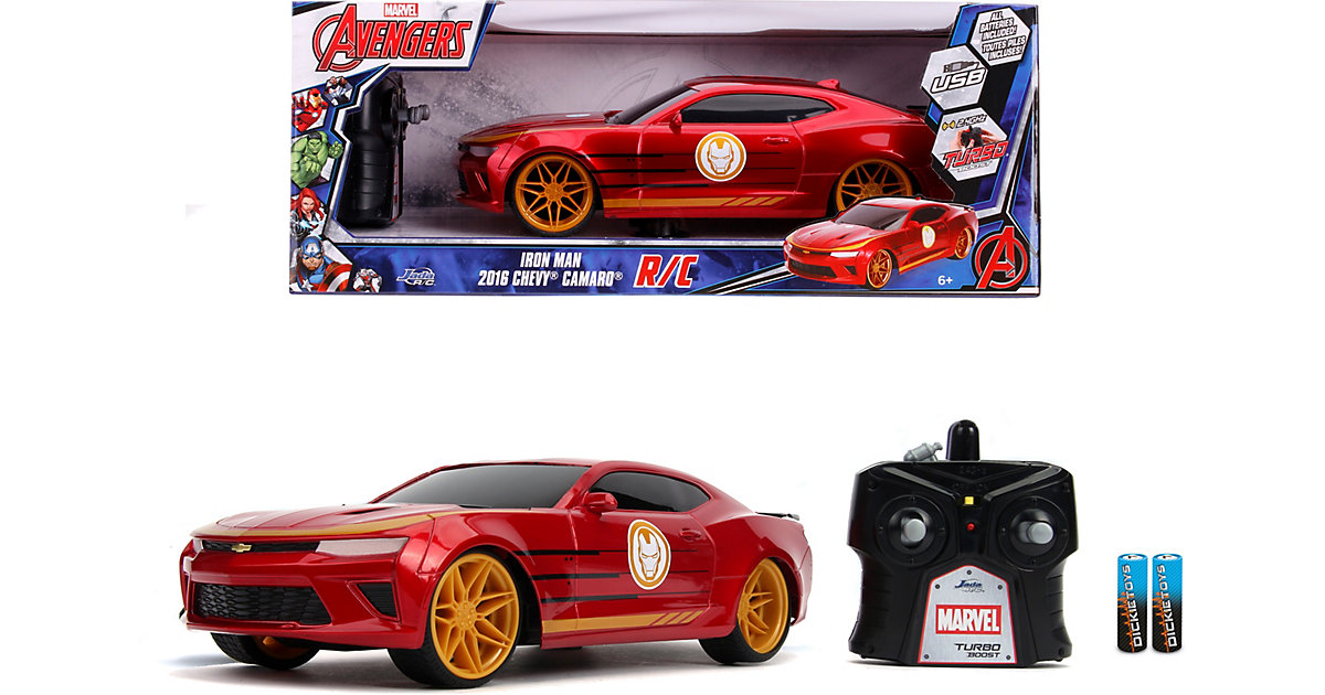 Marvel Iron Man RC 2016 Chevy 1:16
