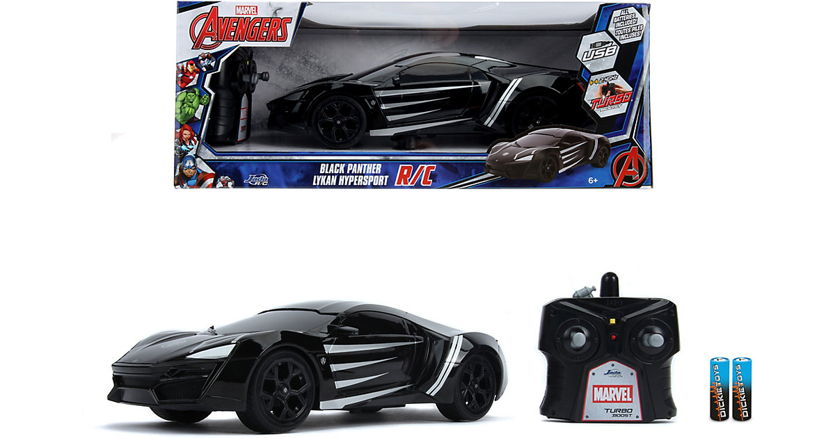 Marvel Black Panther RC Lykan 1:16