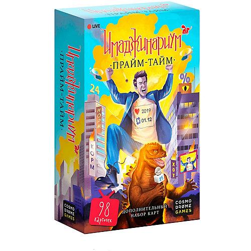 """Набор дополнительных карточек к игре """"Прайм-тайм"""" Cosmodrome Games Имаджинариум от Cosmodrome Games"""