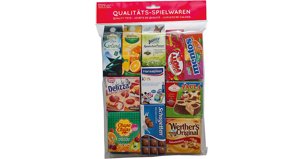 Spiellebensmittel den Kaufladen, sortiert  Kleinkinder