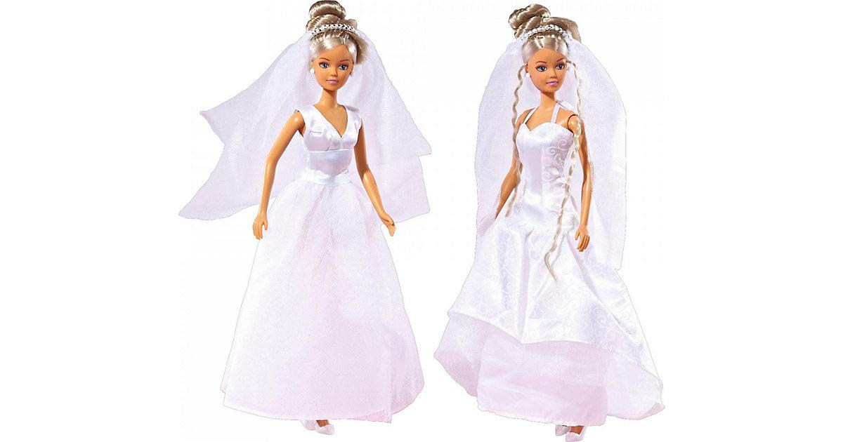 Steffi in Hochzeitskleid