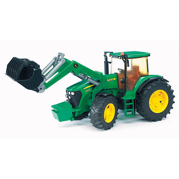 BRUDER 03051 John Deere Traktor 7930 mit Frontlader, John Deere
