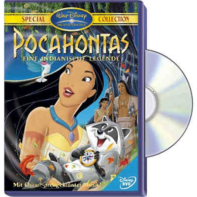 DVD Disneys Pocahontas (Special Collection)
