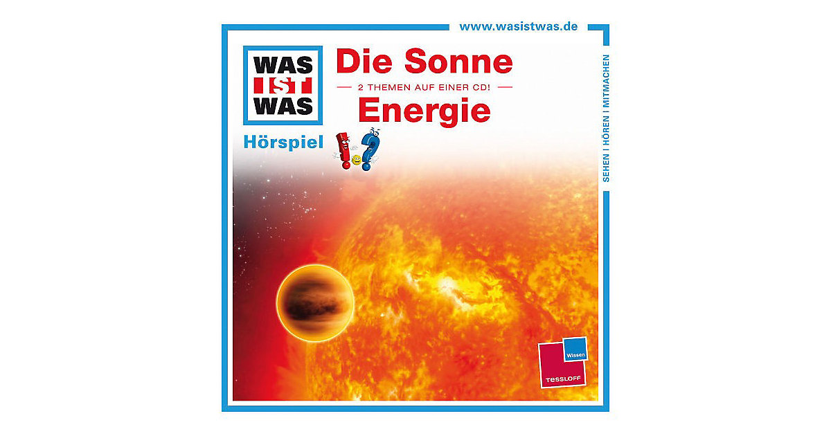 CD Was ist Was 22: Sonne/Energie Hörbuch