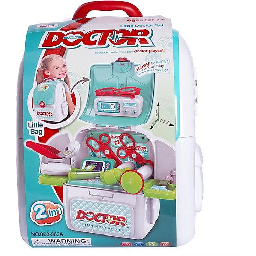 """Ранец-трансформер Junfa """"Маленький доктор"""" от Junfa Toys"""