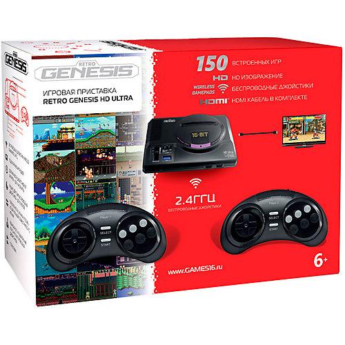 Игровая приставка SEGA Retro Genesis HD Ultra + 150 игр ZD-06a