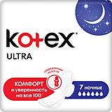 Ультратонкие прокладки Kotex Ultra Net Night, 7 штук