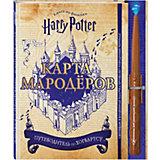 """Книга по фильму Гарри Поттер """"Карта Мародёров"""""""